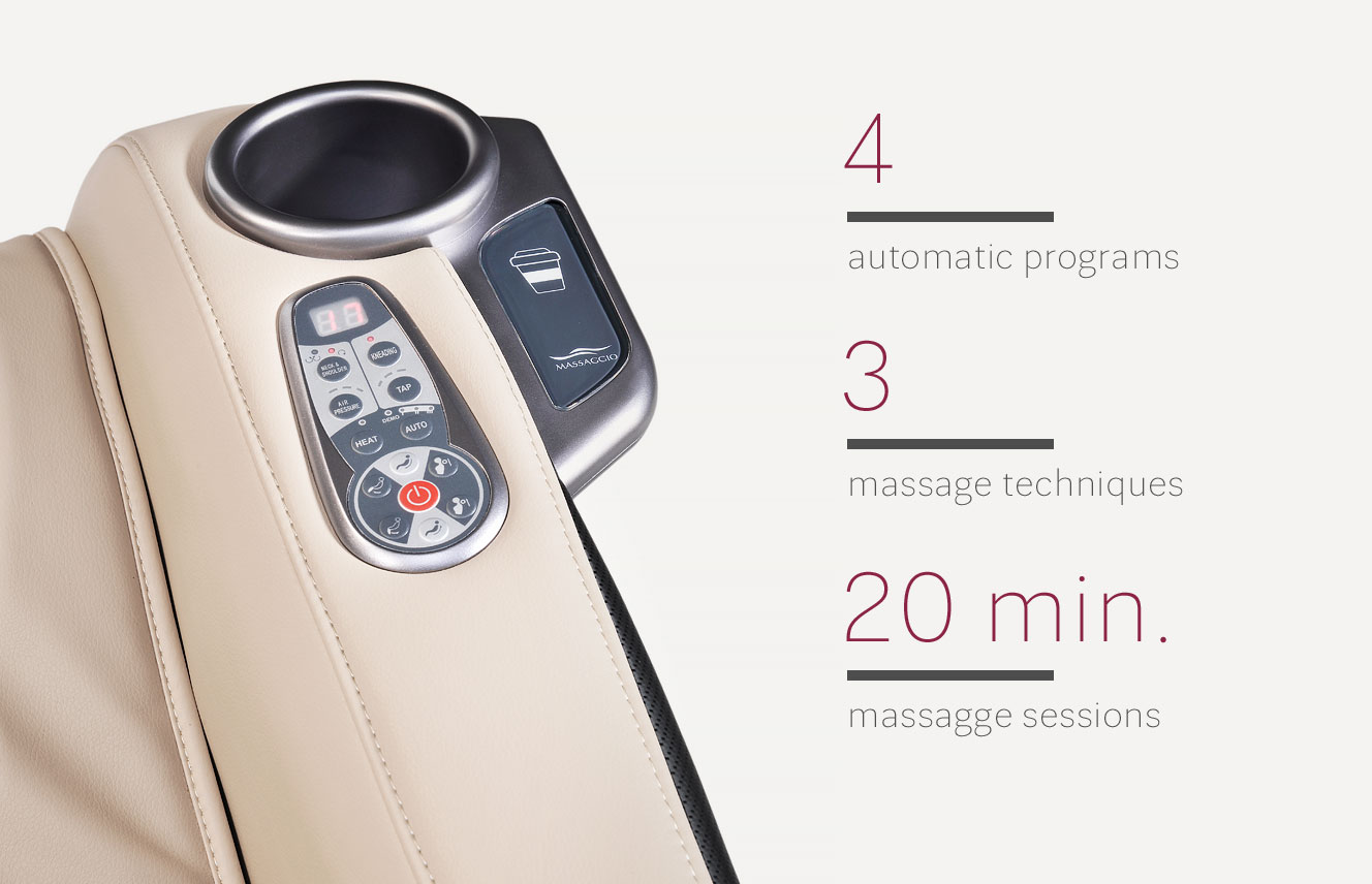 Massaggio Ricco remote control
