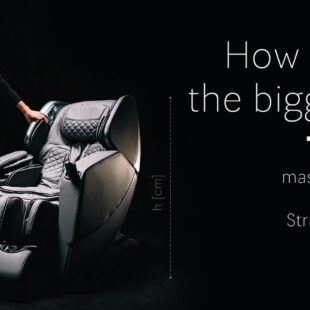 How big is the biggest massage chair?