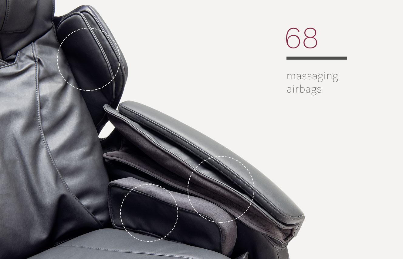 Massagging bags in Massaggio Stravagante