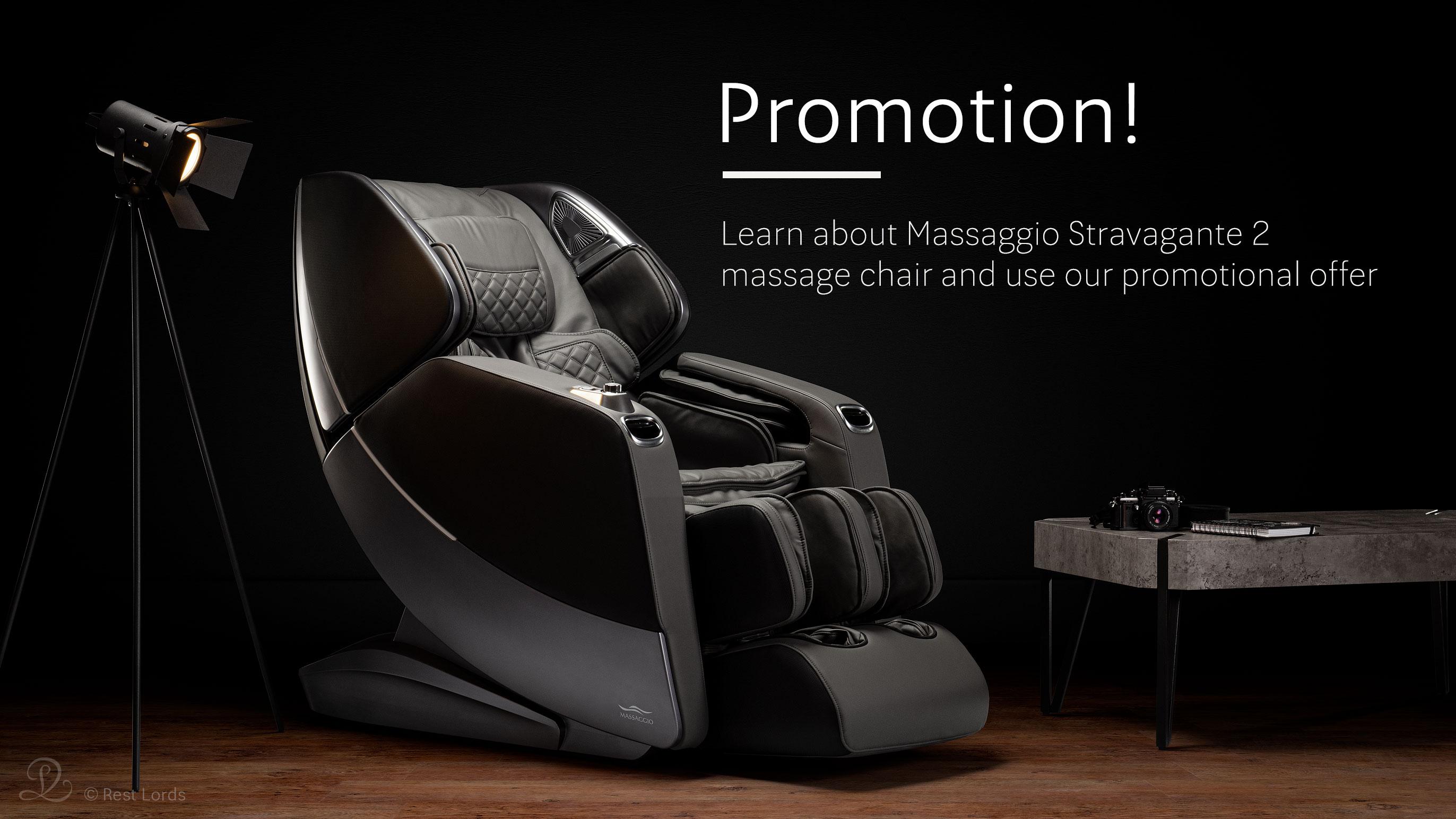 Massage chair Massaggio Stravagante 2 on sale promotion
