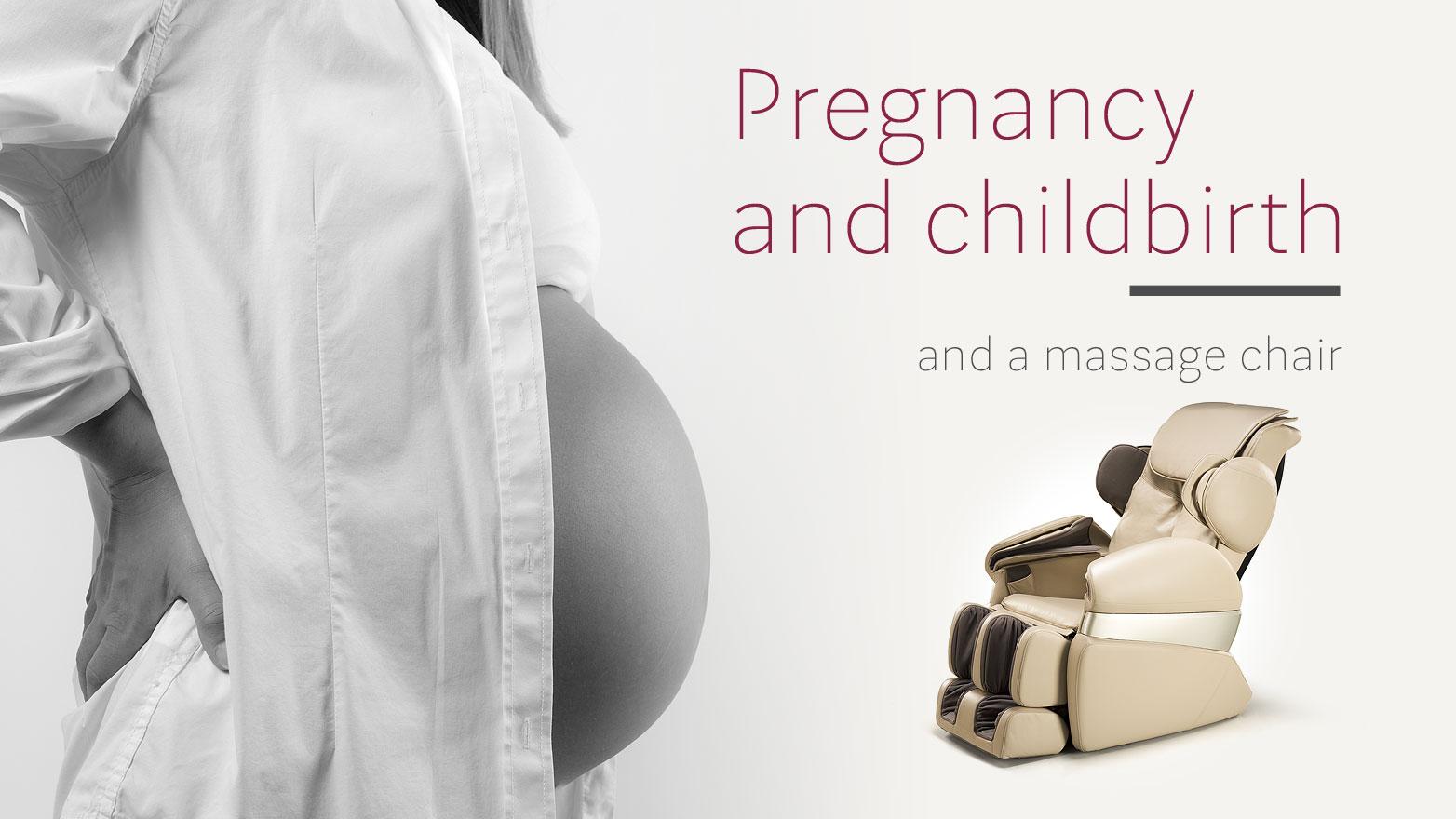 Massage chair during pregnancy