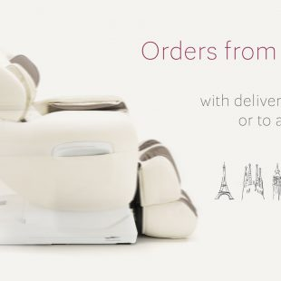 Massage chair Rest Lords delivery abroad