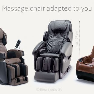 Massage chair weight and height of a man