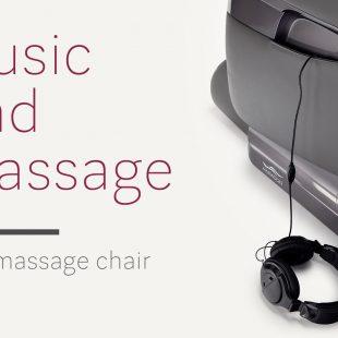 Music in massage chair