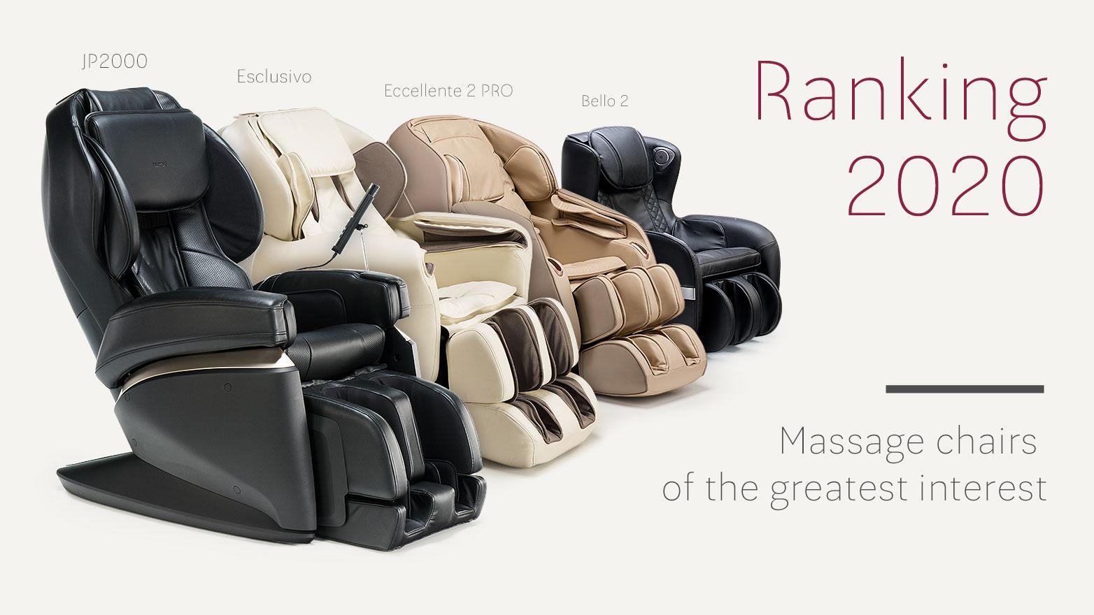 Massage chair ranking 2020