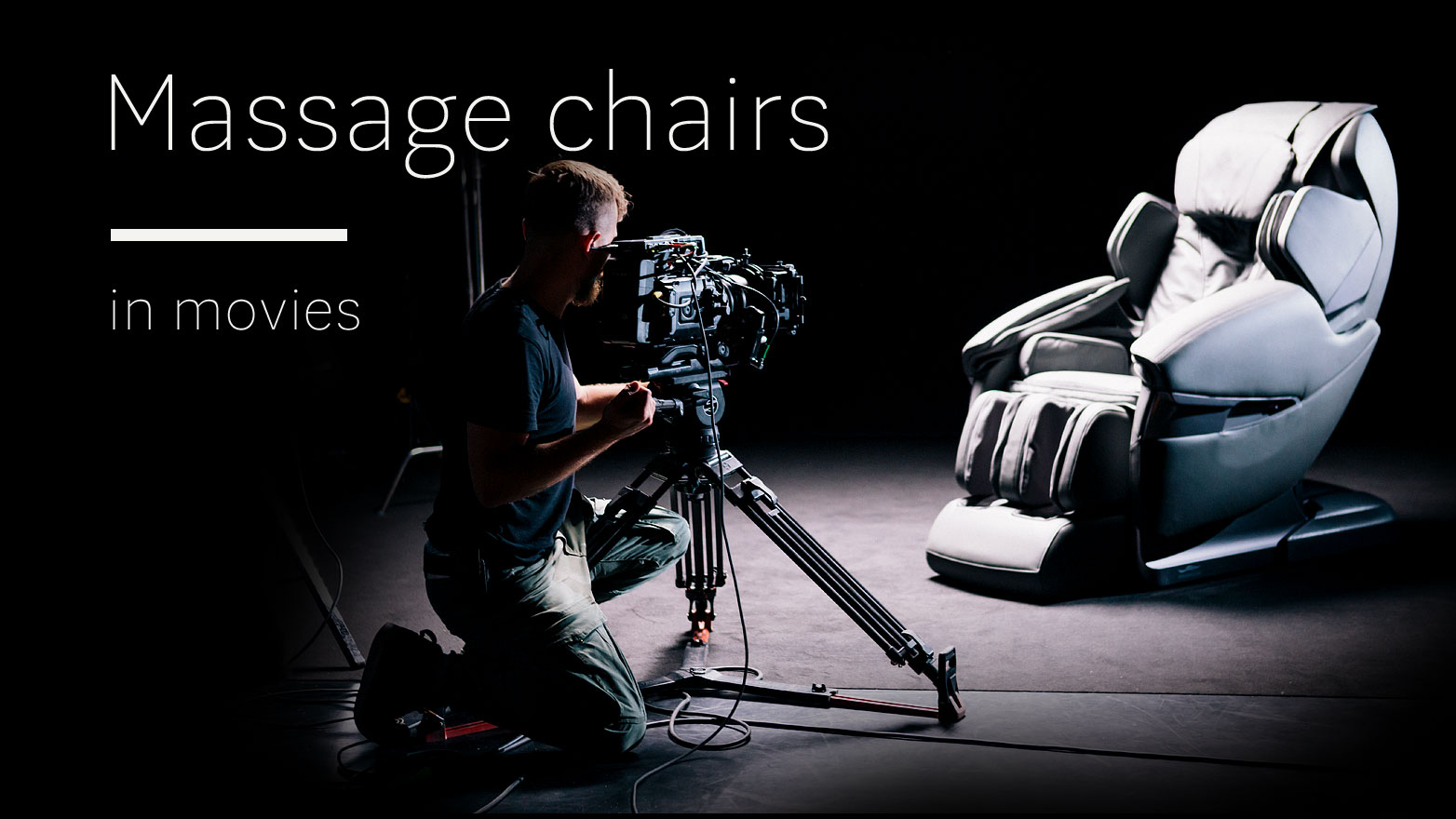 Massage chairs in movies
