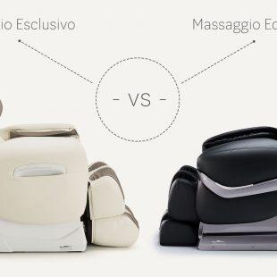 Massage chairs Massaggio Esclusivo vs Eccellente