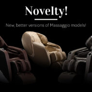 New massage chairs models