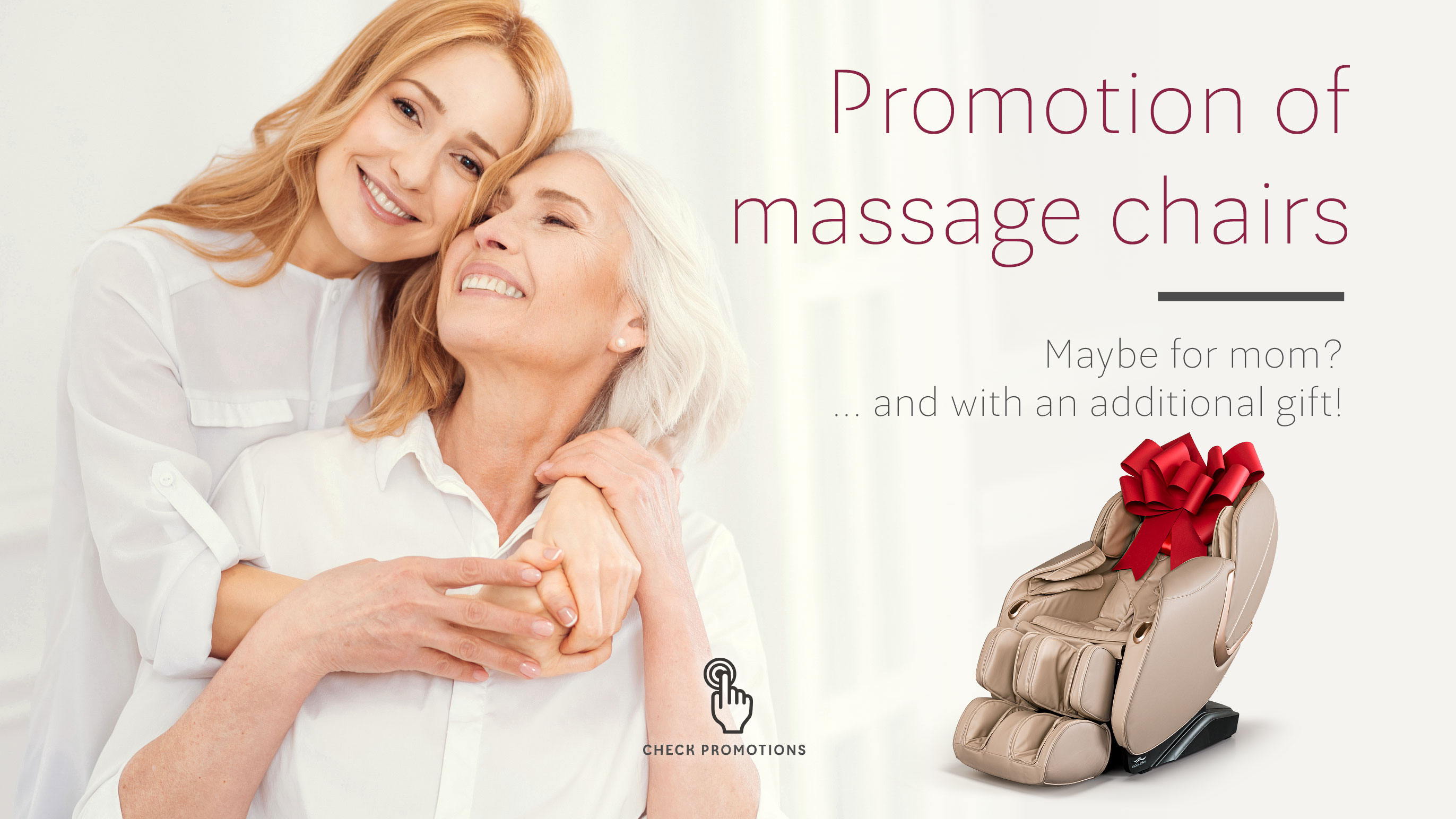 Massage chairs for Mother's Day