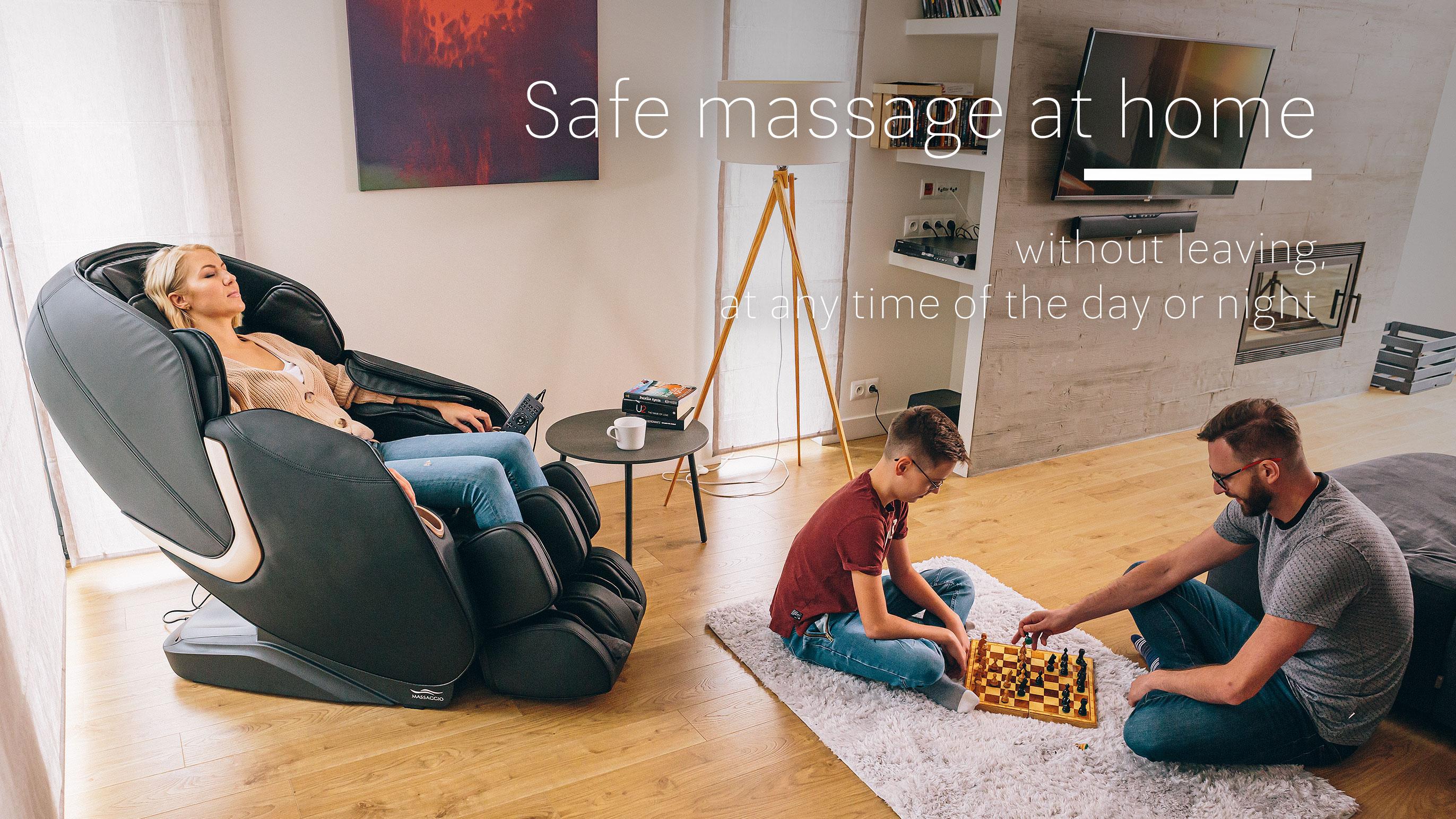 Safe massage at home