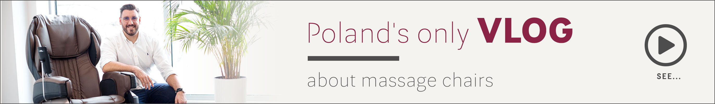 Poland's only vlog about massage chairs