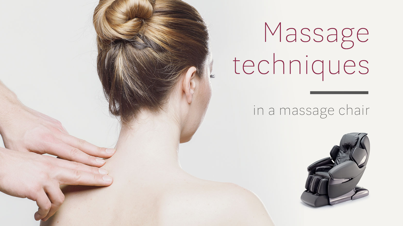 Massage techniques massage chair Rest Lords