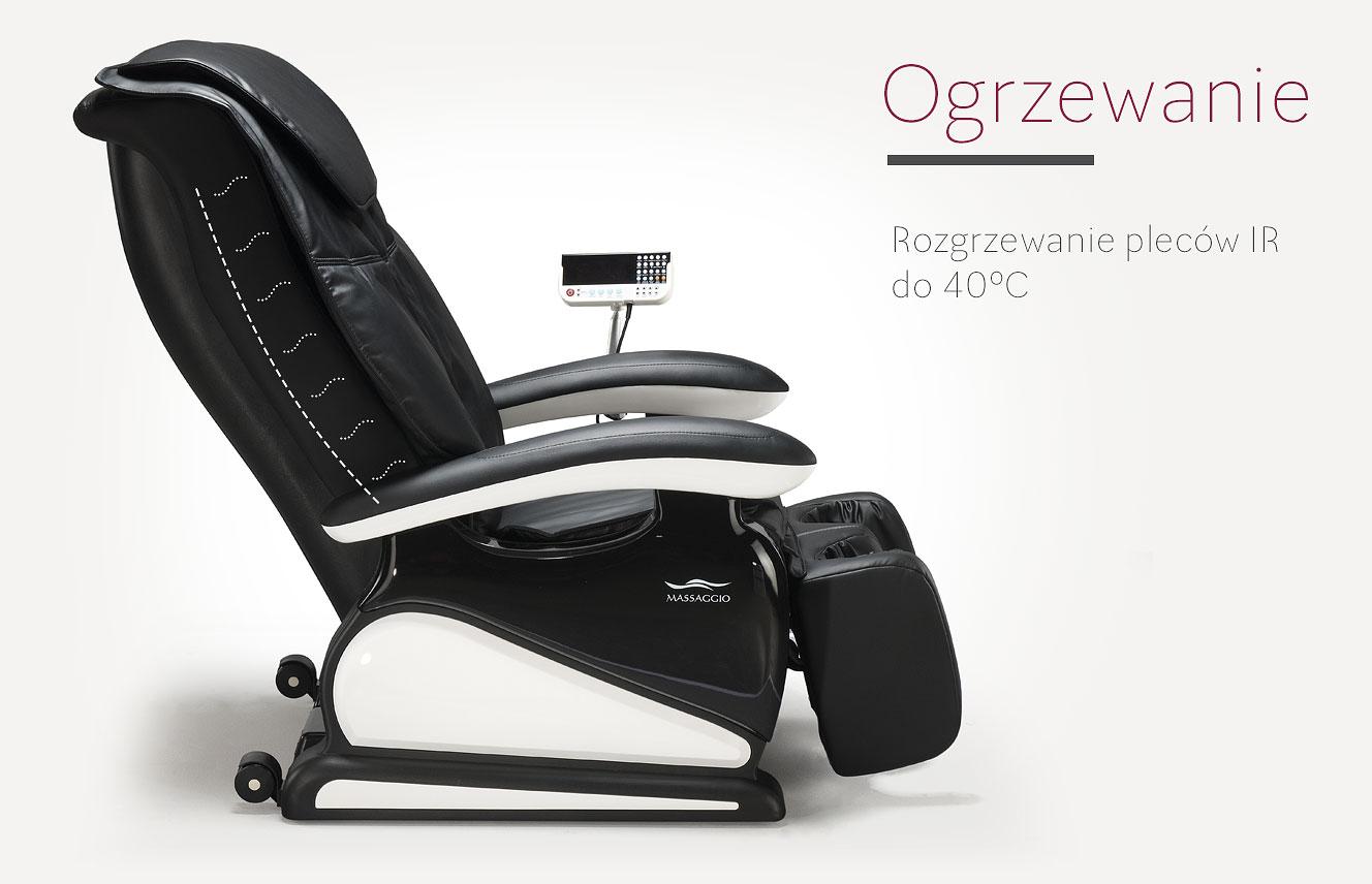 Fotel do masażu Massagio Bello ogrzewanie