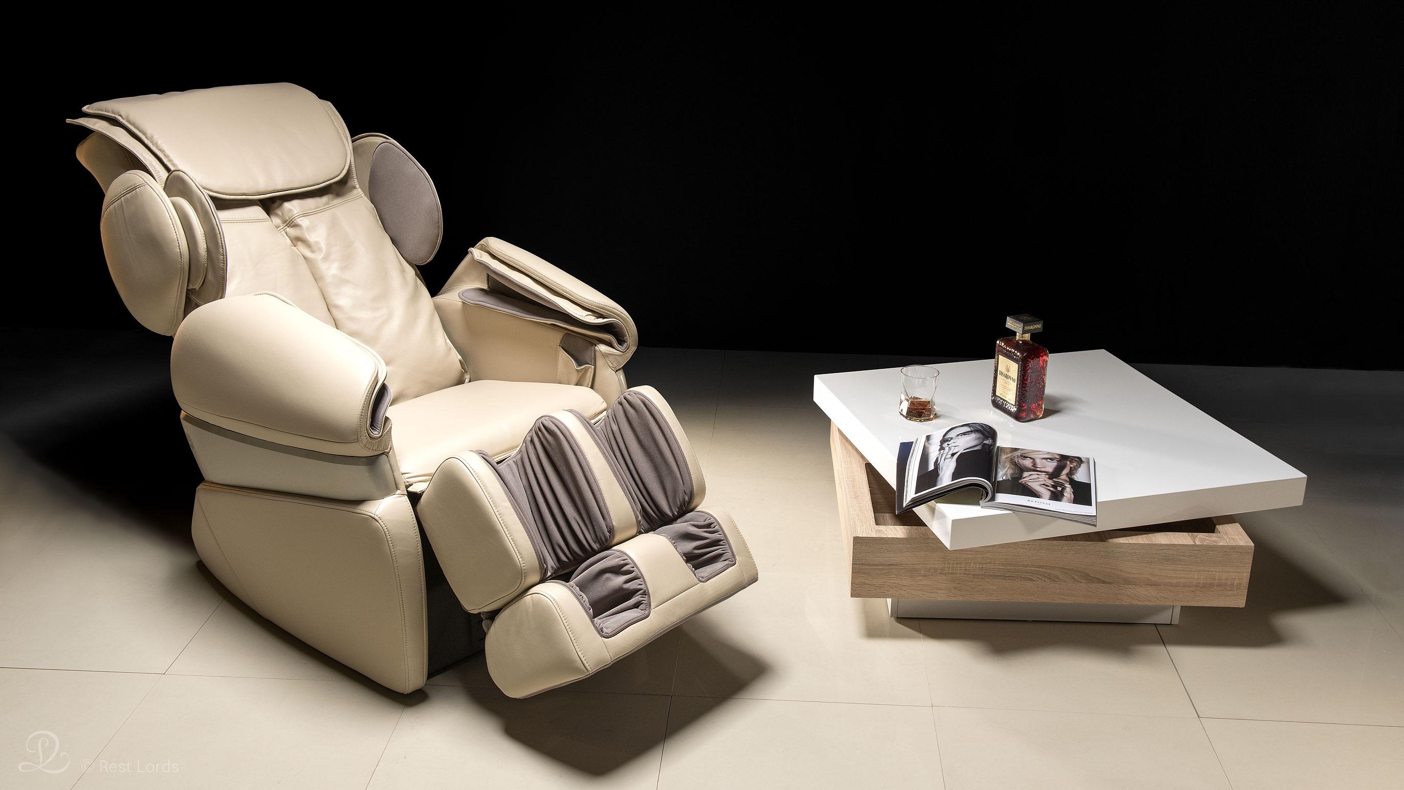 Zdjęcie fotela masującego w aranżacji