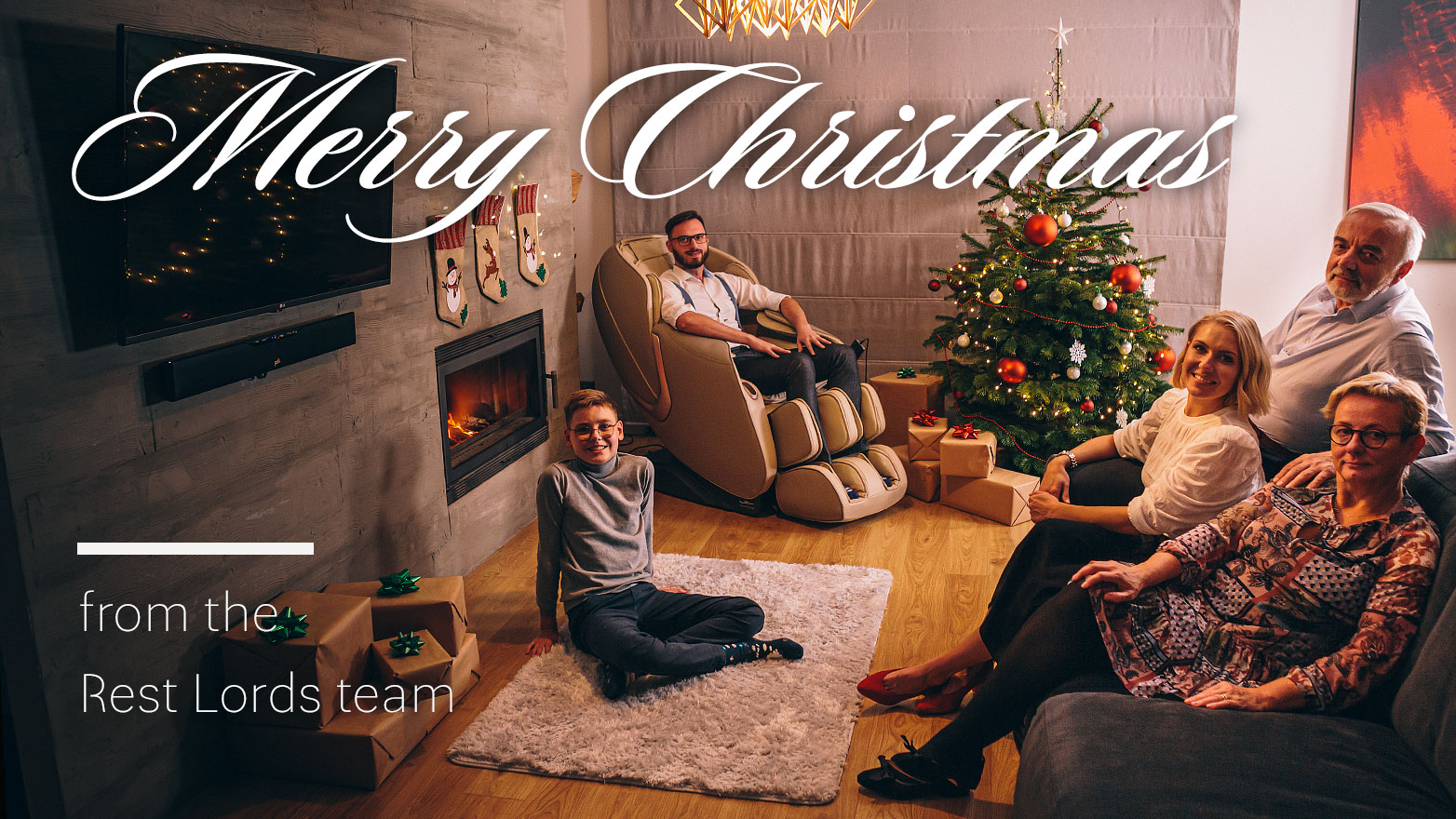 Merry Christmas from Rest Lords