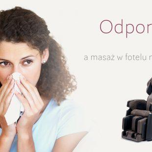 Odporność i fotel masujący