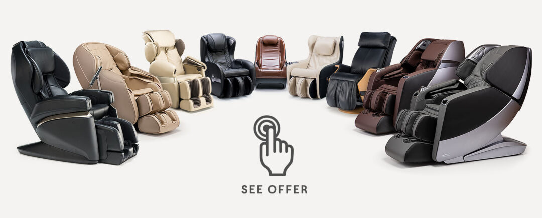 Massage chairs offer