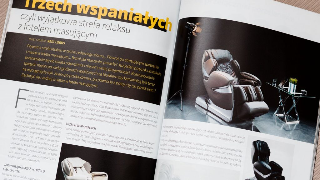Fotele z masażem Rest Lords w magazynie Decoration and Design 1