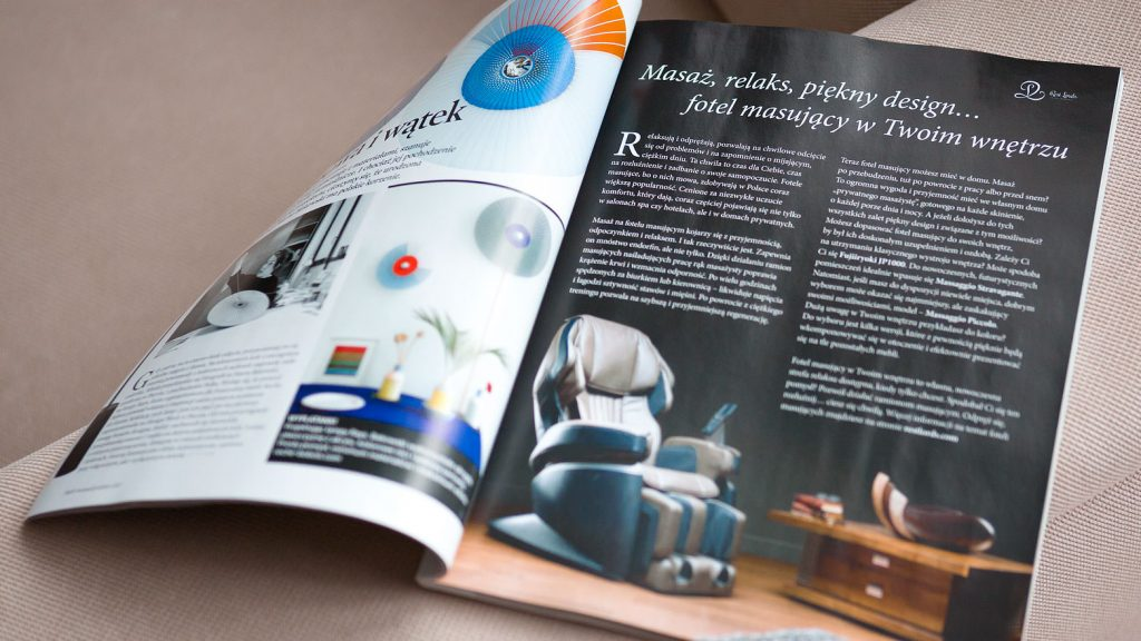 Massage chair Rest Lords at Dom & Wnętrze magazine 1