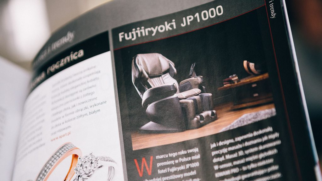Massage chair Rest Lords at  Forbes magazine 1