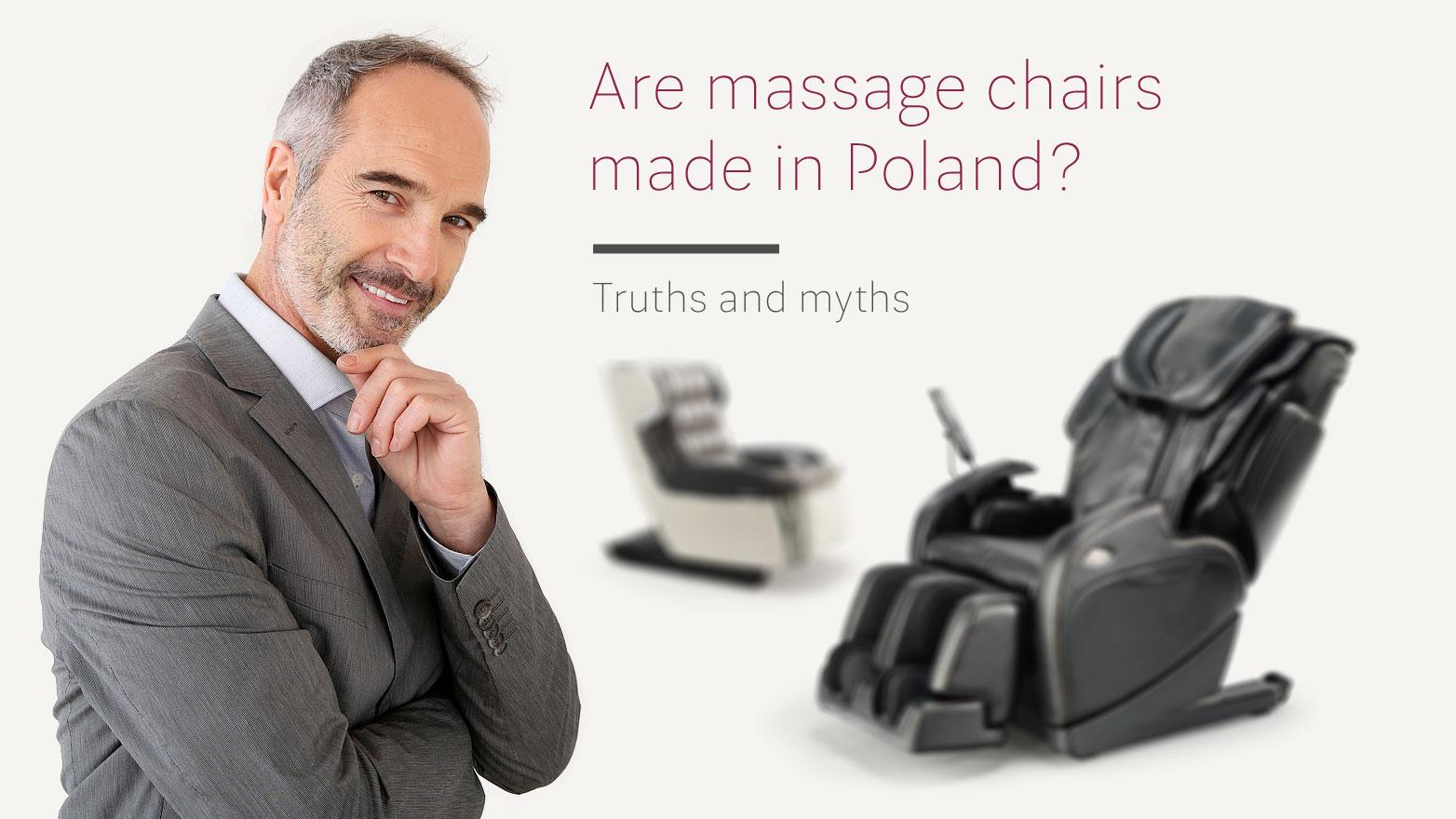 Polish massage chairs