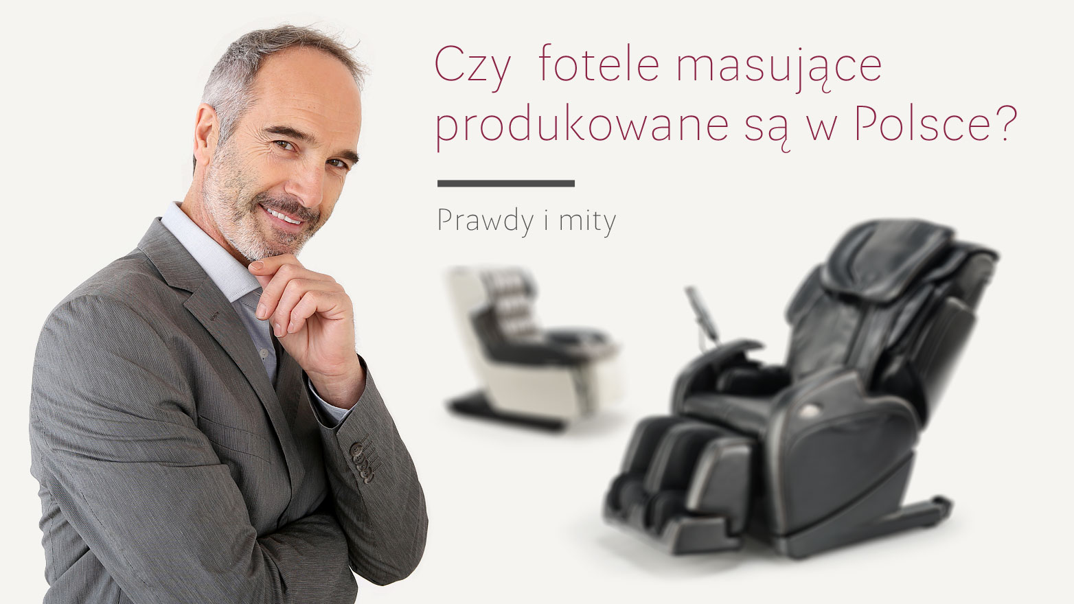 Polskie fotele masujące