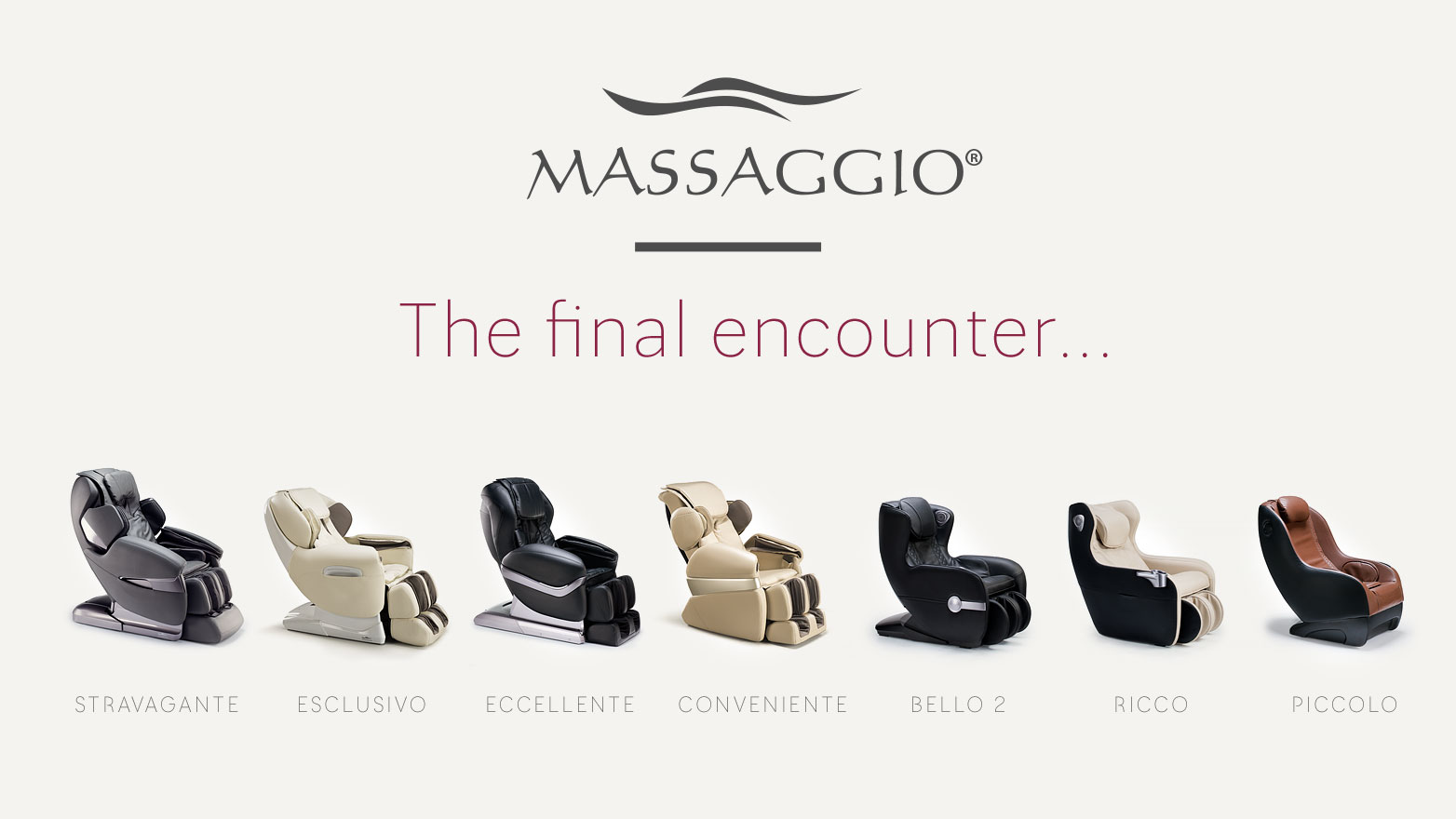 Final encounter of Massaggio brand