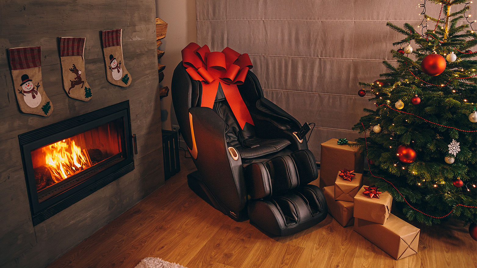 Fotel masujący jako prezent na Święta - Rest Lords Fotele Masujące