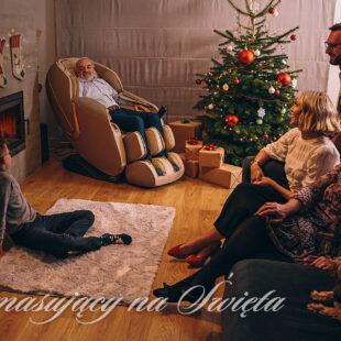 Fotel masującu - prezent na Święta - Rest Lords