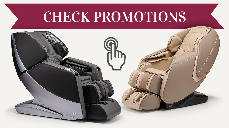 Massage chairs promotion
