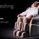 Refreshing nap in massage chair