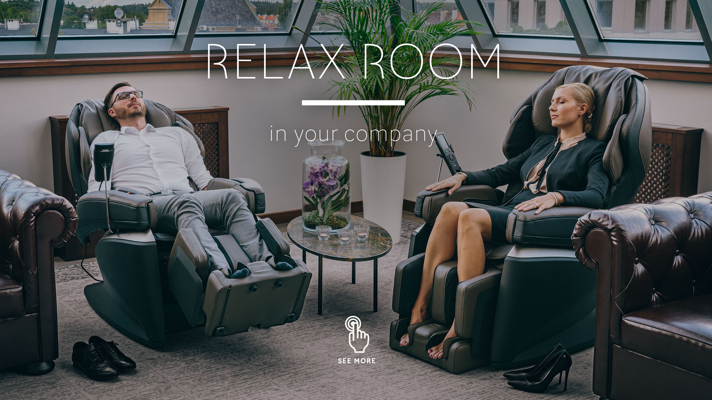 Relax Room massage chair