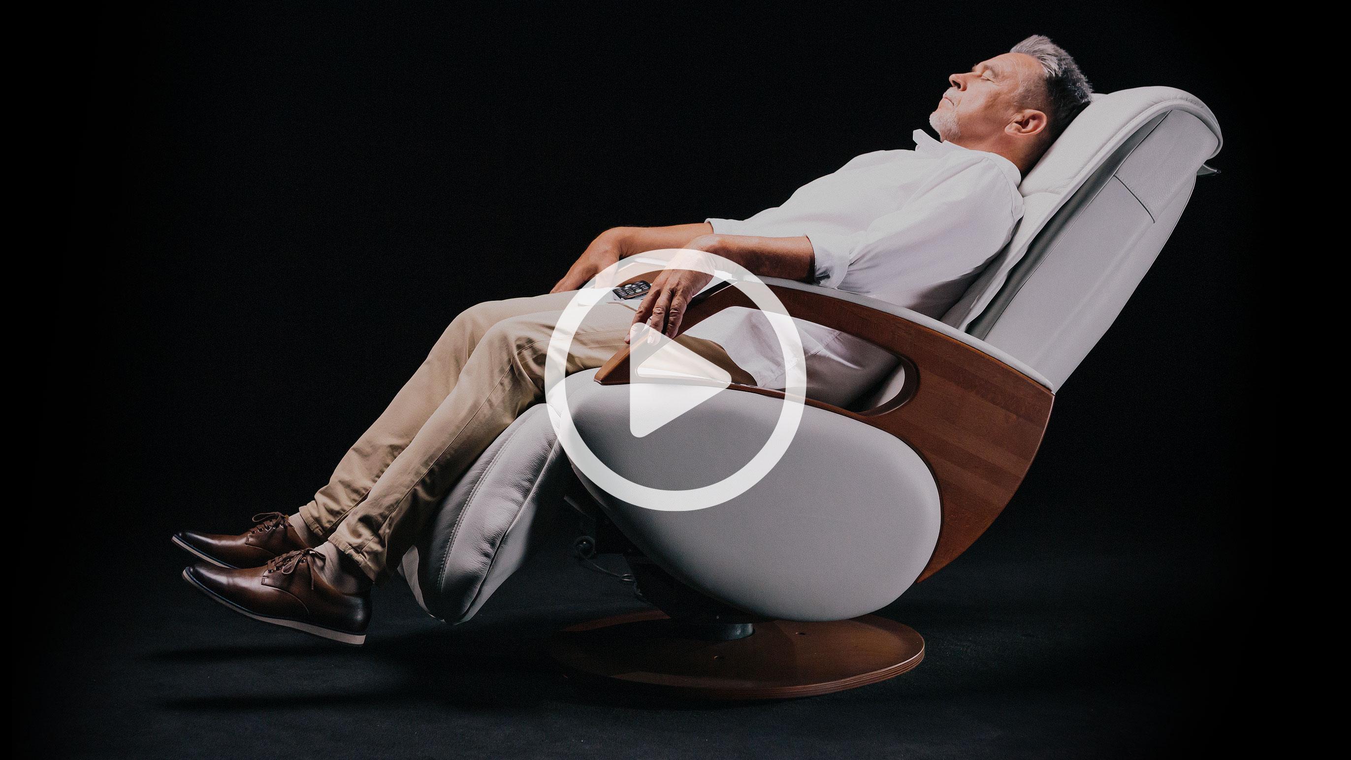Keyton H10 prezentacja fotela masującego