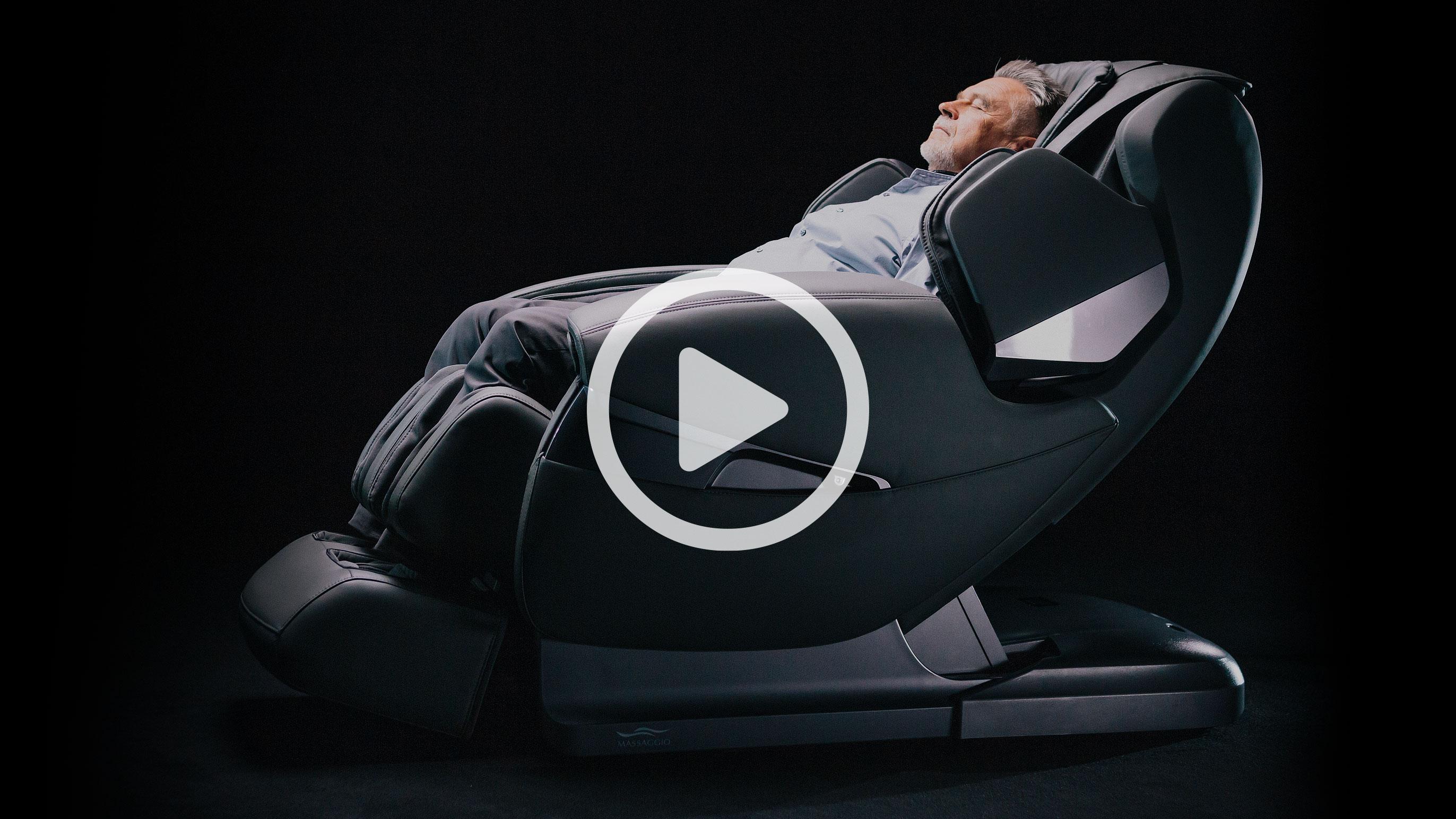 Massaggio Stravagante prezentacja fotela masującego