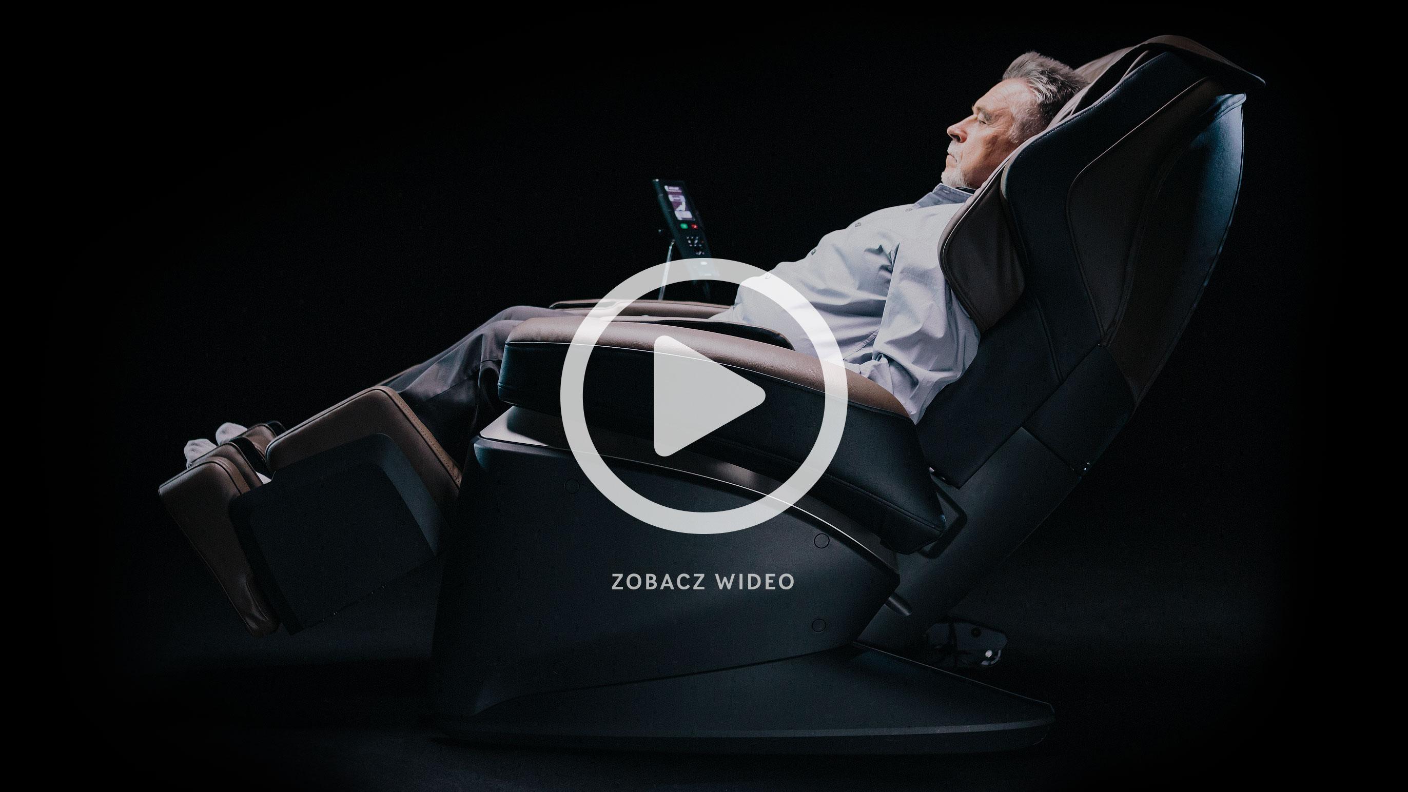Fotel masujący Fujiiryoki video