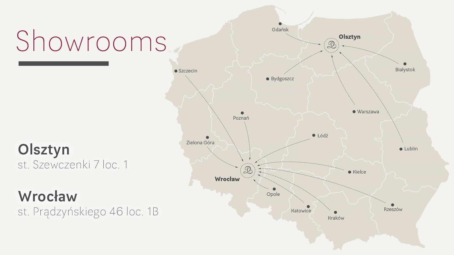showrooms mapa eng