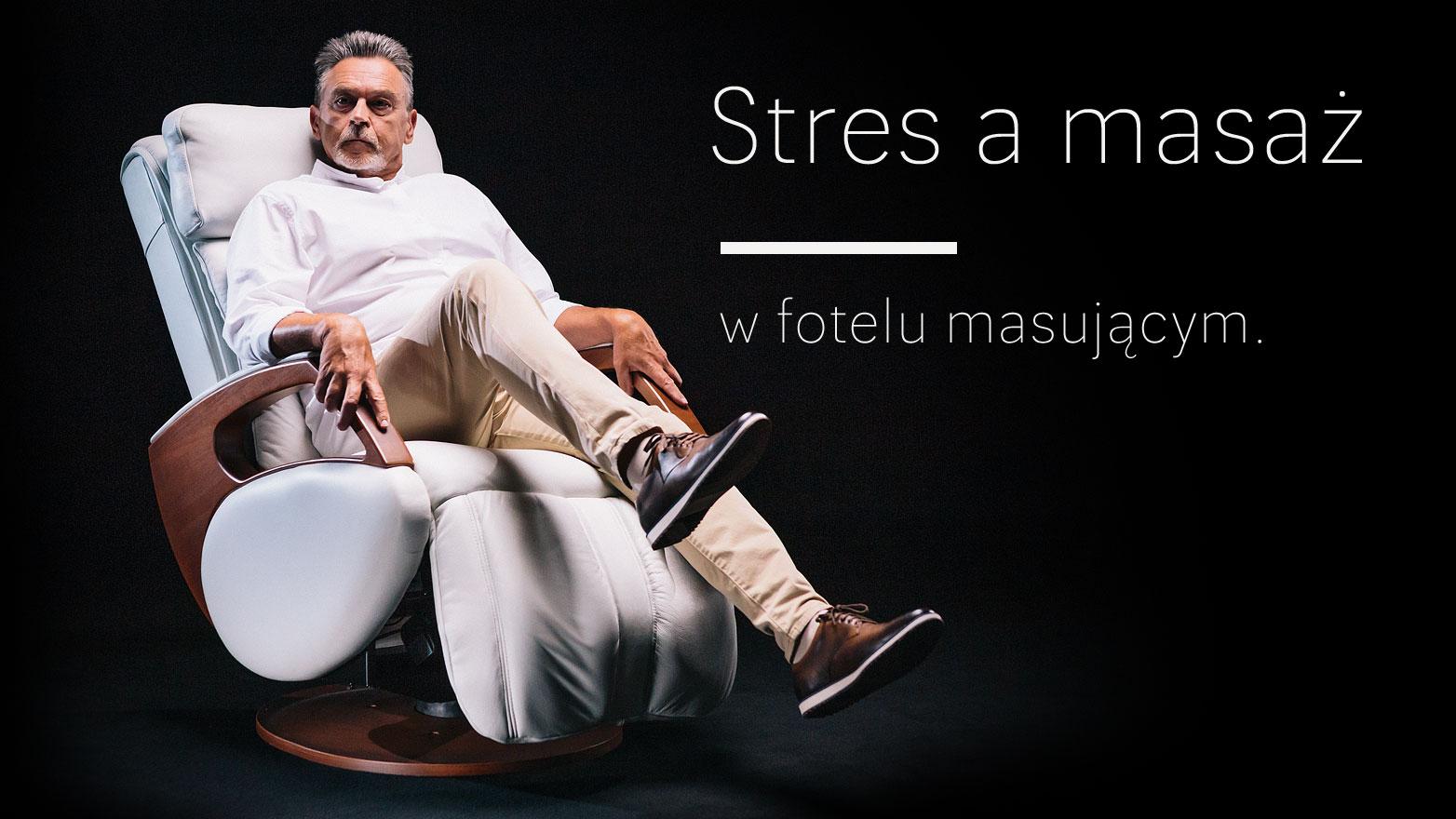 Stres a masaż w fotelu masującym
