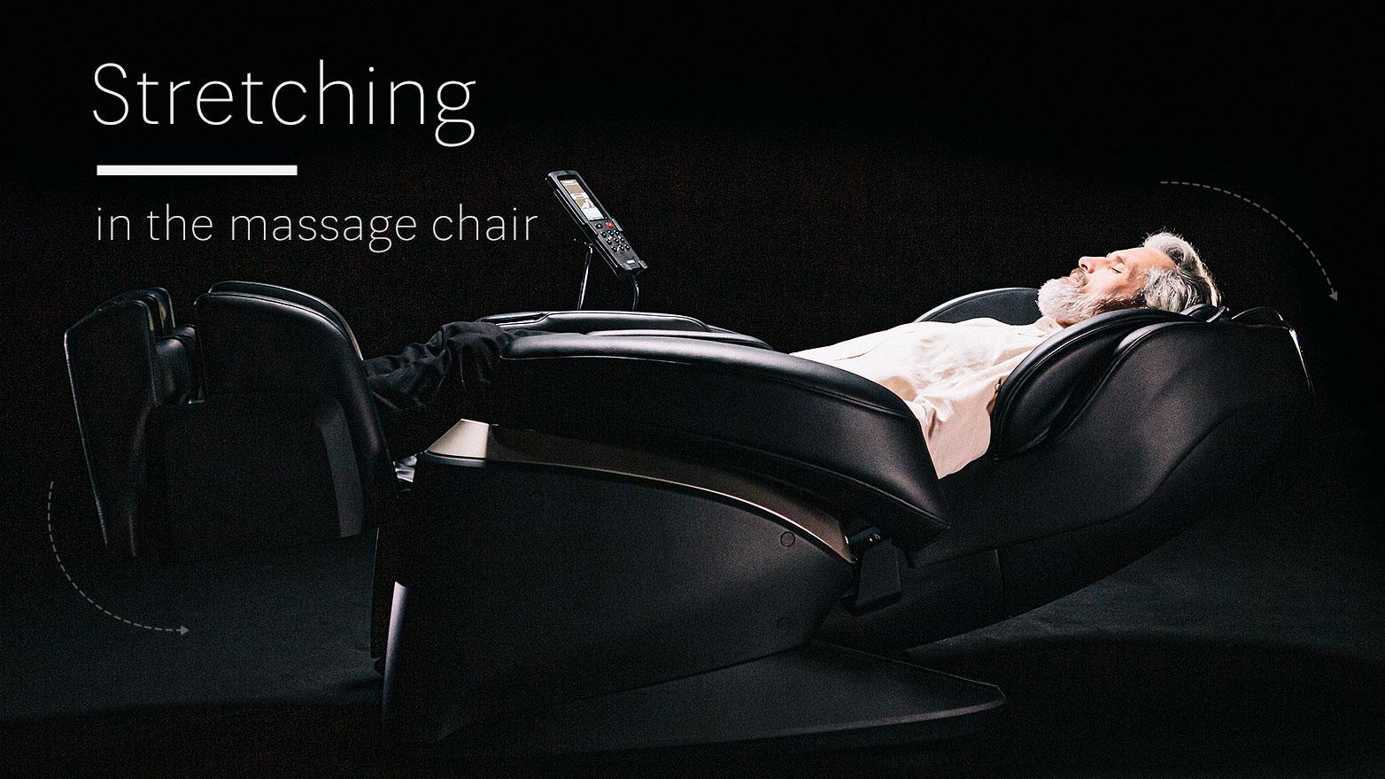Stretching massage chairs 2021
