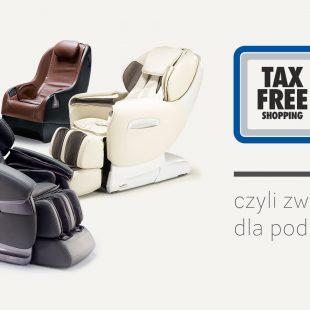 Tax free zwrot vat fotele masujące Rest Lords