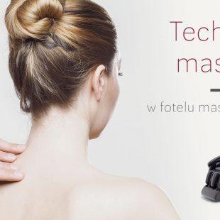 Techniki masażu fotel masujący Rest Lords