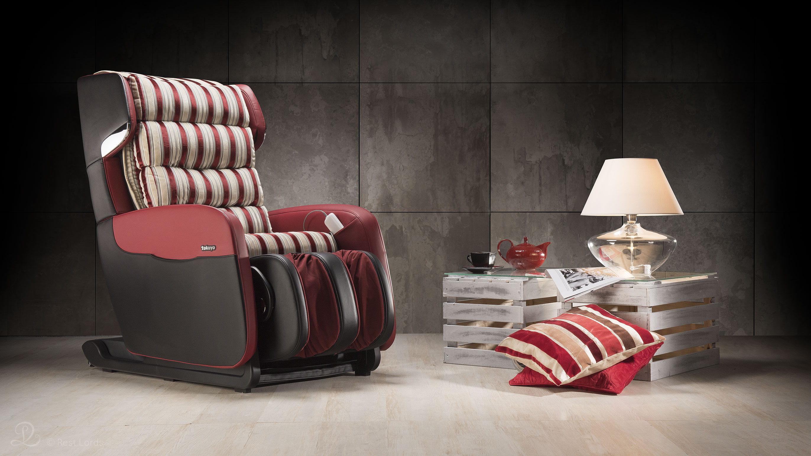 Fotel do masażu Tokuyo aranżacja