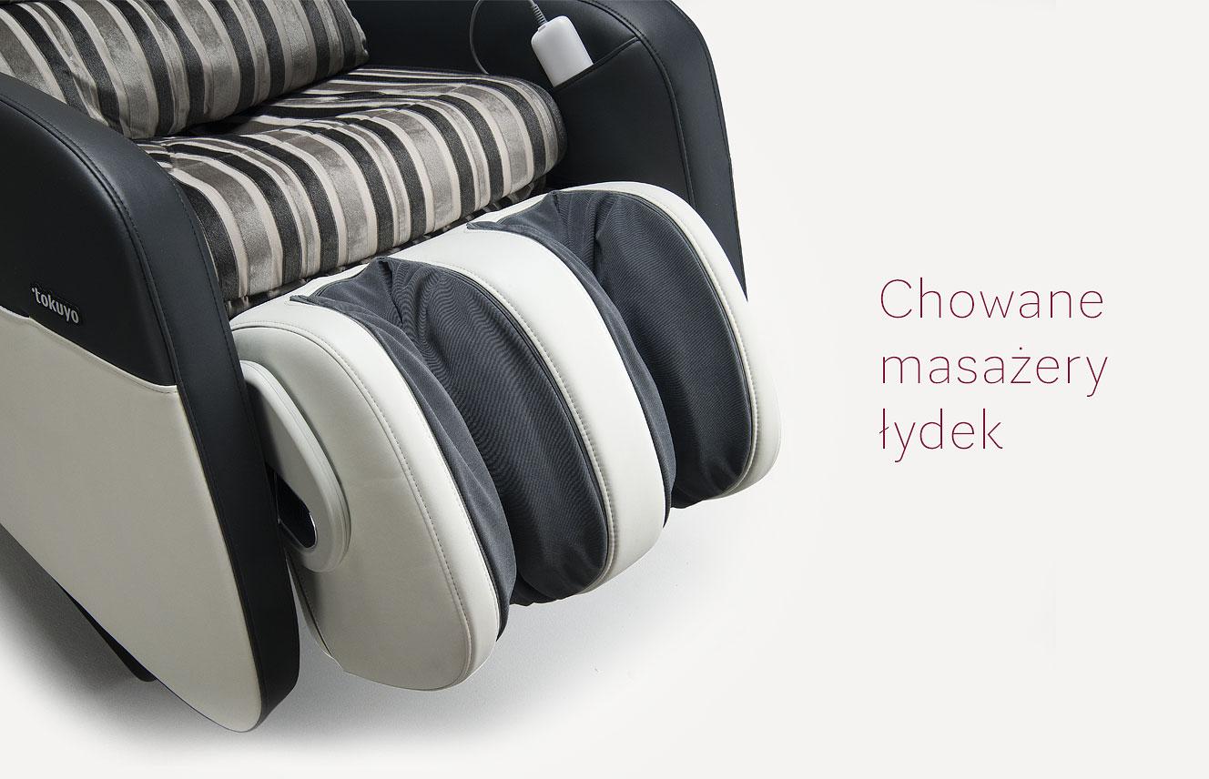 Fotel masujący Tokuyo masaż nóg