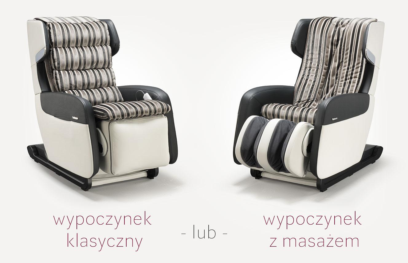 Fotel masujący Tokuyo wypoczynek
