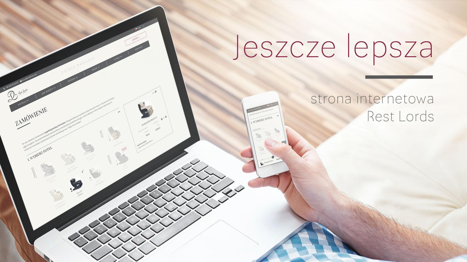 Ulepszona strona restlords.com