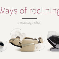 Ways of reclining massage chair