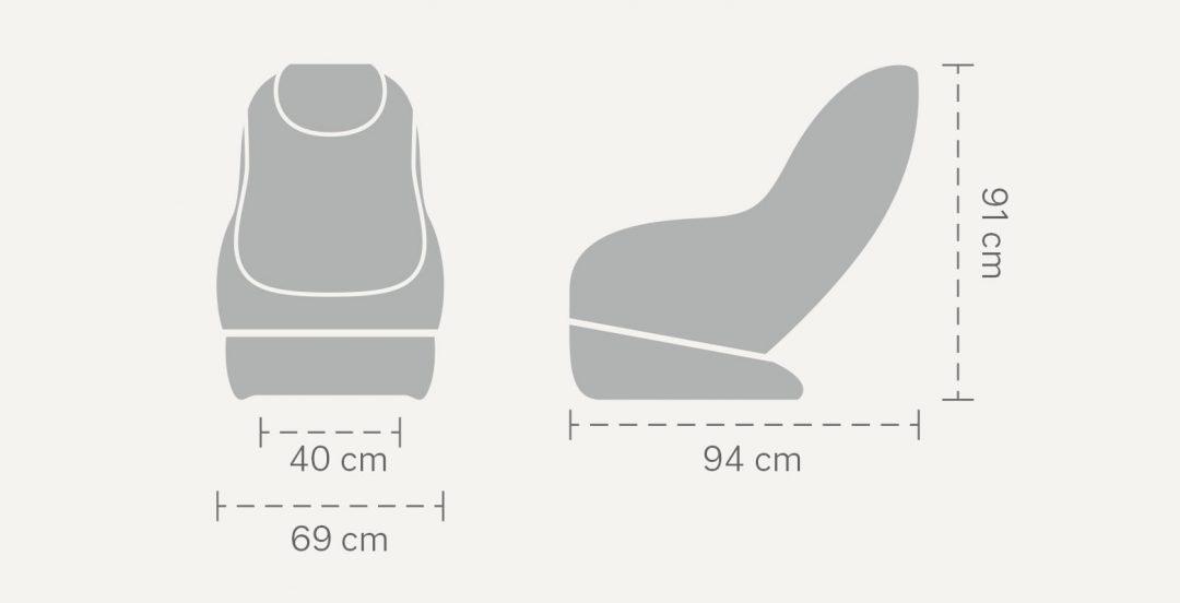 Wymiary Massaggio Piccolo